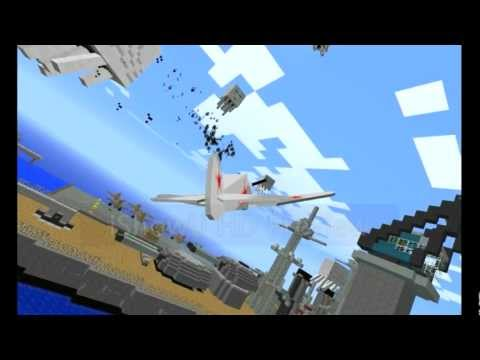 Minecraft Air Defense - Flan's mod