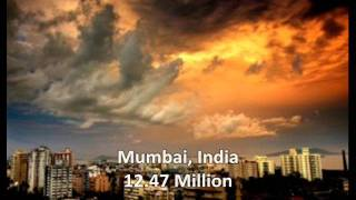10 Most Populated Cities of the World in 2011