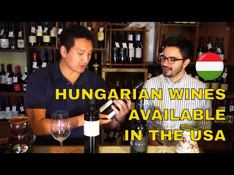 Hungarian Wines in The USA Part I