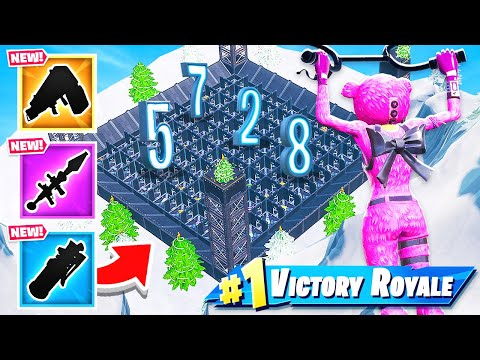 Door Maze RANDOM LOOT *NEW* Creative Minigame in Fortnite Battle Royale
