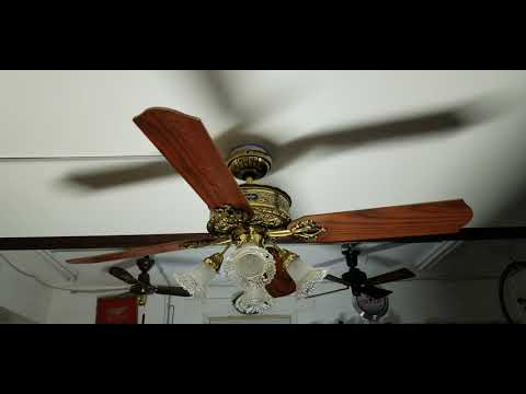 Hunter 1896 Art Nouveau Ceiling Fan