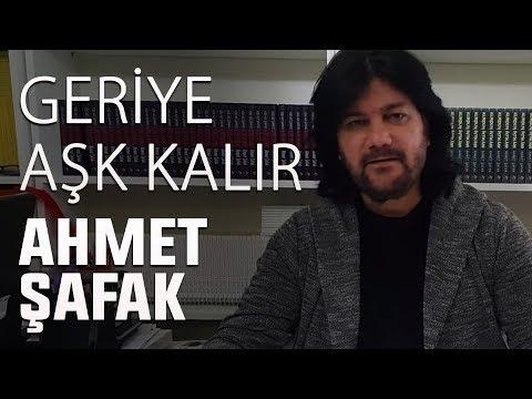 Ahmet Şafak/Geriye Aşk Kalır (Canlı Performans)