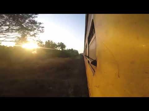 Thailand Overnight Sleeper Train Travel from Bangkok to Surat Thani ( Rheinpiraten Düsseldorf )