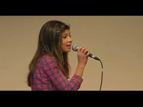 Capri Anderson singing