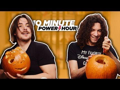 Let's Carve: Pumpkins! - Ten Minute Power Hour
