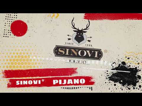 Sinovi ® - Pijano (Official Lyrics Video 2020)