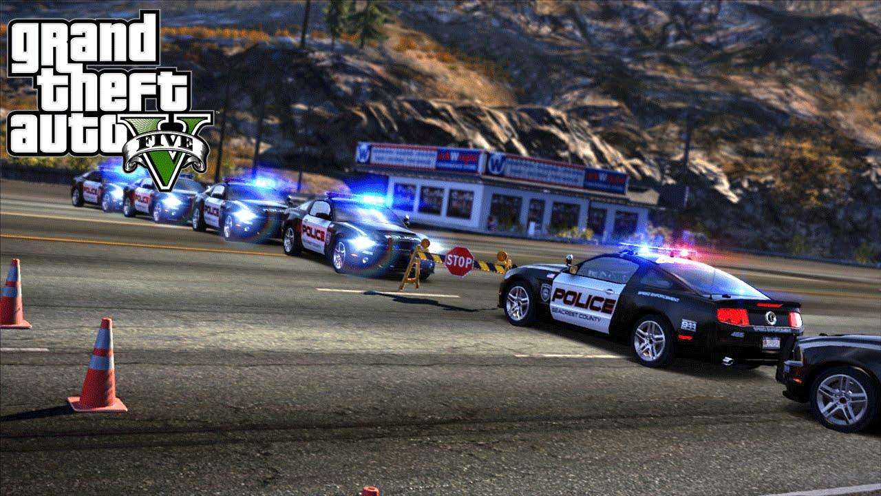 GTA 5 - Lets Be Cops