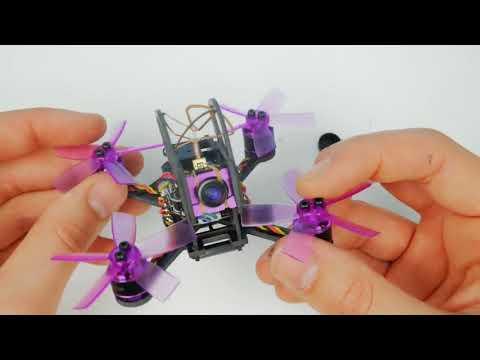 Фото Вваливающий квадрокоптер с камерой / Eachine Lizard 95. Микро Гоночный FPV квадрокоптер.