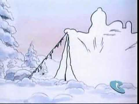 Snoopy Woodstock In Snow Youtube