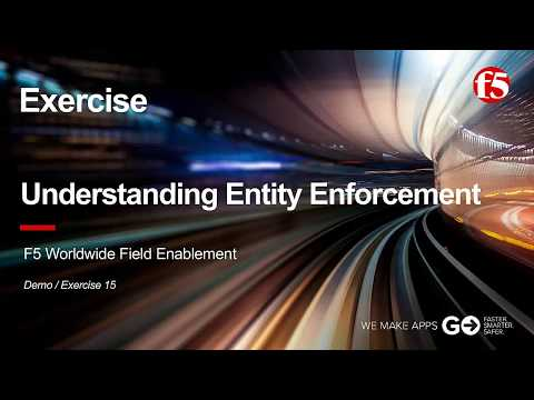 ASM Demo 15 (Exercise): Understanding Entity Enforcement with F5 BIG-IP ASM