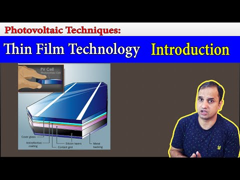 OC Lect 8: Thin Film Solar cell Definition