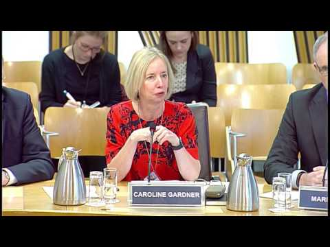 Public Audit and Post-legislative Scrutiny Committee - Scottish Parliament: 10th November 2016