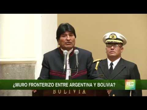 ¿Muro fronterizo entre Argentina y Bolivia?