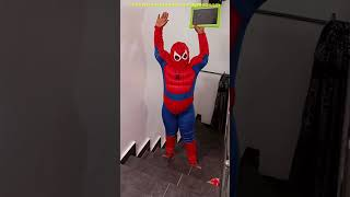 Spiderman #shorts vs #hulk shorts funny video Spiderman funny prank  comedy video ep2