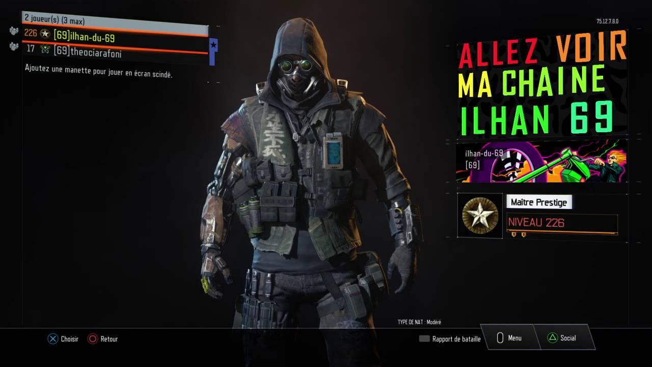 Call Of DutyR Black Ops III Toutes Les Cartes De Visites Du Nouveau Specialiste Bonus Fin Video