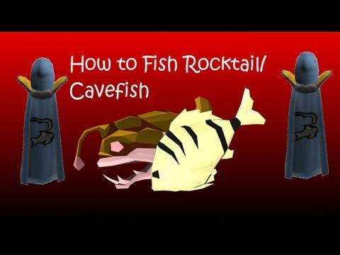 How To Fish Rocktail/Cavefish And A Way To Maximize Xp