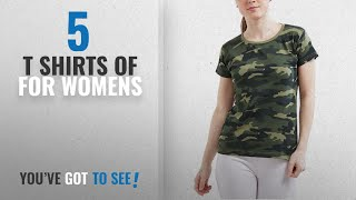Top 10 T Shirts Of For Womens 2018 WYO Women 39 s Camouflage Army Military Short Sleeve Top Tees T