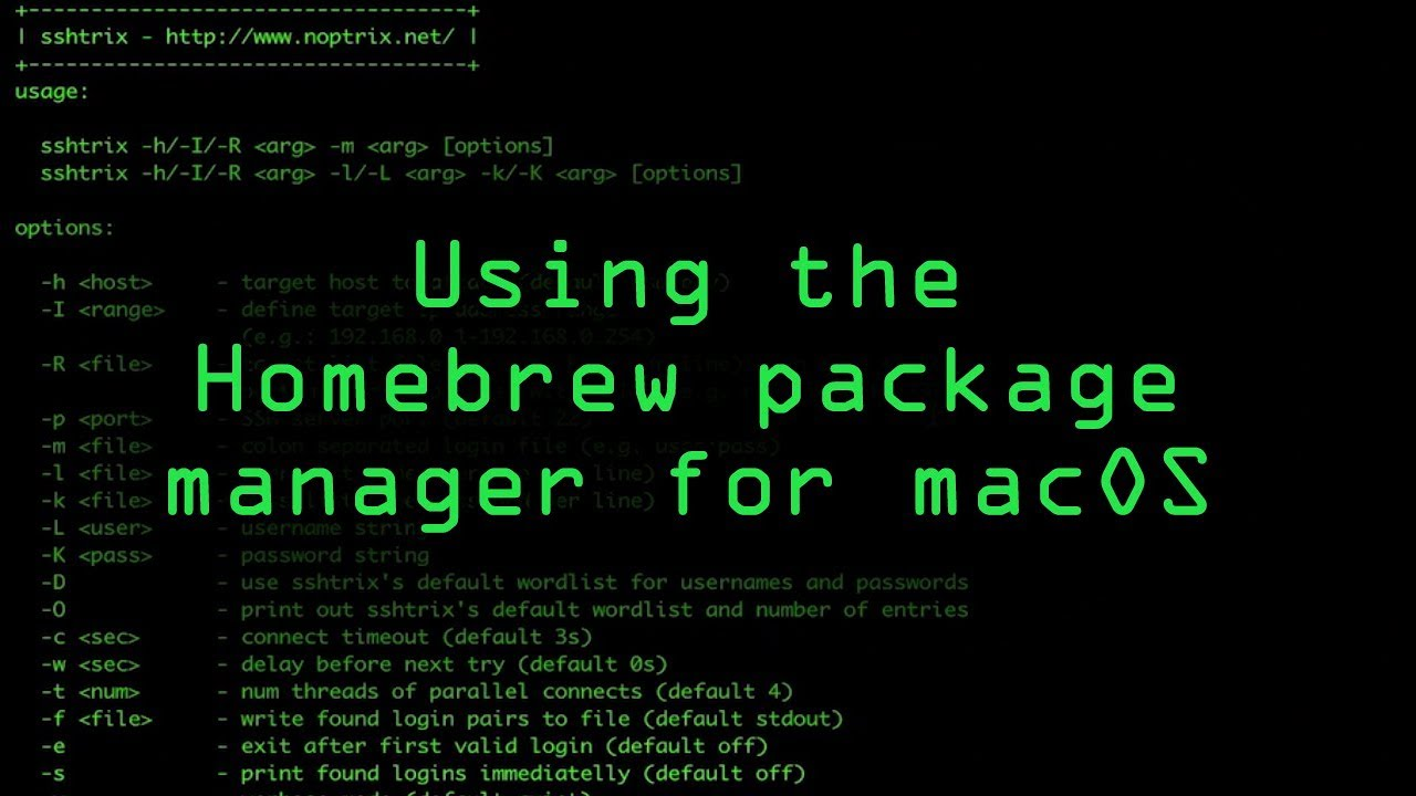 Mac for Hackers: How to Set Up Homebrew to Install & Update
