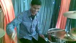 Byrone Drum solo - Young master Byrone aka BadK