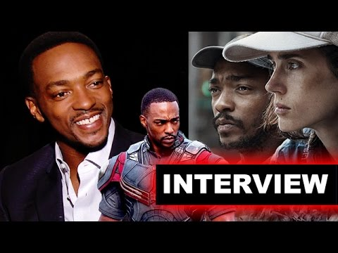 Anthony Mackie Interview - Falcon, Sam Wilson Captain America #1, Shelter 2015 - Beyond The Trailer