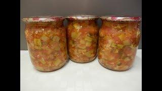 видео салат из кабачков