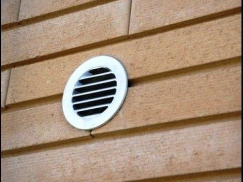Правильная установка клапана КПВ 125 (КИВ 125) в деревянном доме