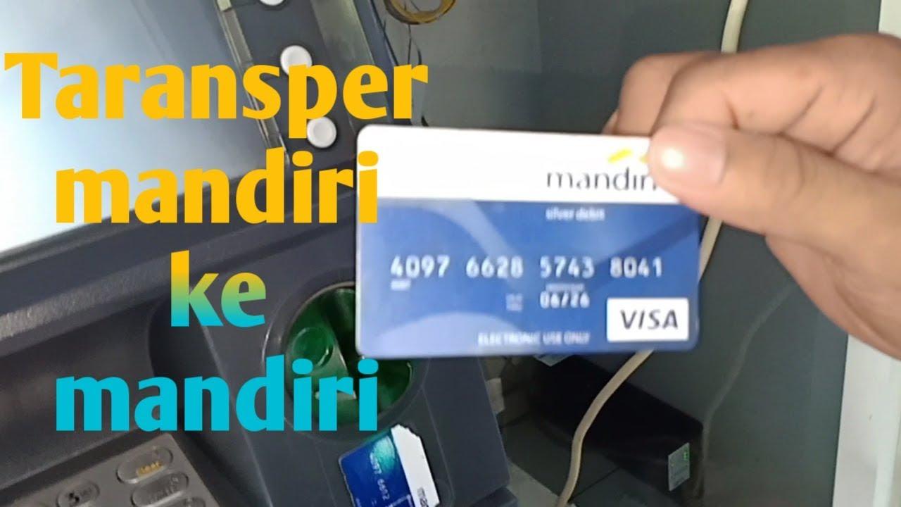 Cara Transper uang di ATM, Antar Mandiri Ke Mandiri - YouTube