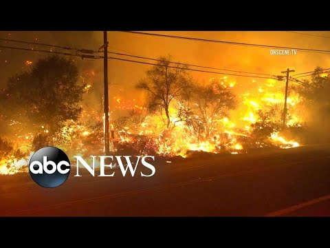Deadly California wildfire