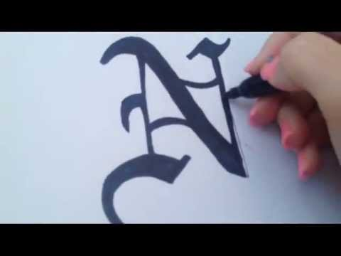 how to draw near s logo from death note youtube