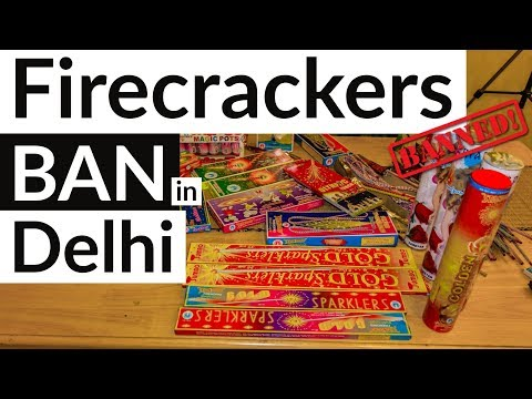 (English) Firecrackers ban in Delhi NCR by Supreme court? Environment angle or Religion involved?