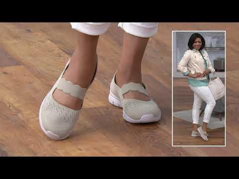 Skechers GO Walk Lite Canvas Ballet