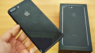 iPhone 7 Plus Jet Black 256GB - Unboxing & First Look! (4K)