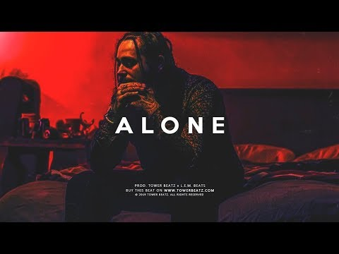 "(FREE) Post Malone Type Beat Sad - ""Alone"""