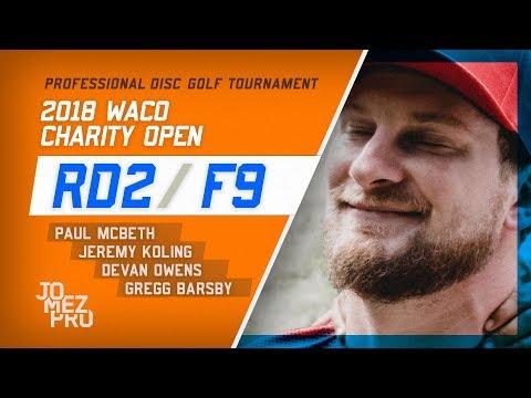 2018 Waco Charity Open | Rd2, F9, Lead Card | McBeth, Koling, Barsby, Owens