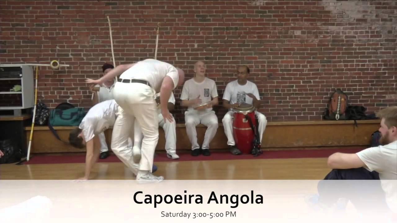 videos de capoeira angola para