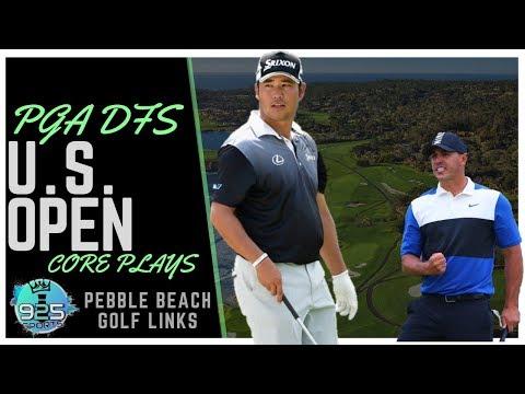 PGA DFS Core Plays: US Open 2019