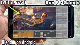 [With Proof] Run PC Games and Software on Android Phone.! [Blender, FL Studio, Virtual DJ, MS Office