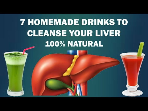 Liver Detox - 7 homemade drinks that naturally cleanse your liver