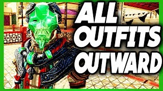 OUTWARD ALL ARMOR SETS | OUTWARD EVERY OUTFIT IN GAME