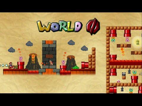 Mario Forever - The Minus Worlds 1.8 (World Slashed Zero Walkthrough) [HD]