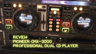 Classic DJ Review: Pioneer CMX-3000 Dual Turntable - The DJ AOT Show Ep. 10
