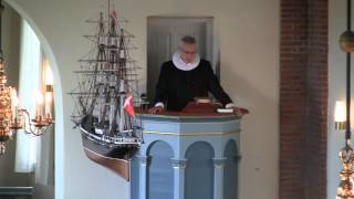 Ny sognepræst i Hou Kirke i Lohals Langeland