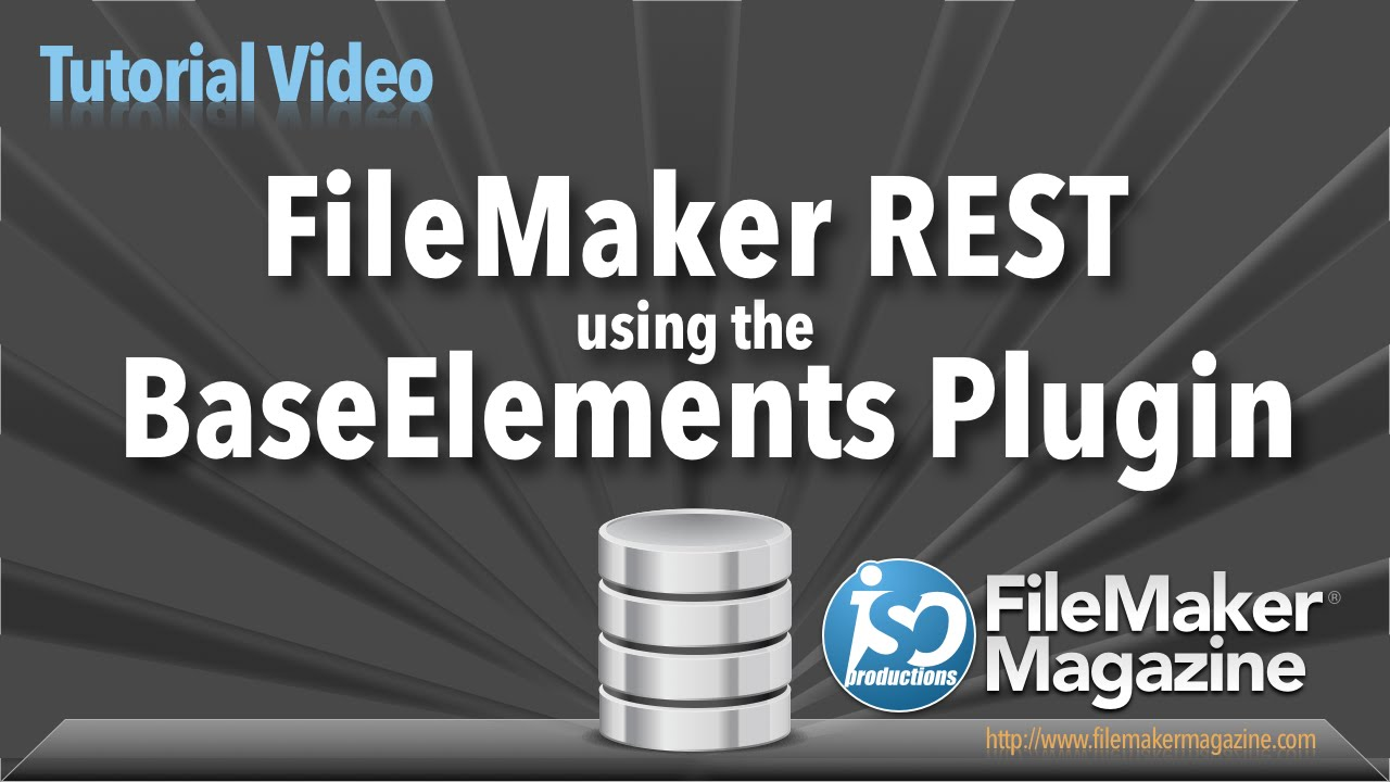 FileMaker REST using BaseElements Plugin