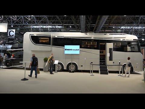 Teuerstes Wohnmobil Europas: 1,45 Mio.€ Variomobil Perfect 1200 Platinum. 3 Slideouts! Actros 2021.