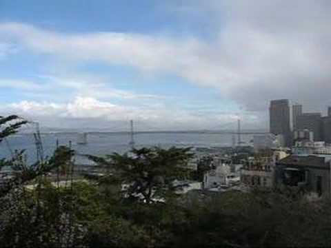 San Francisco: Awesome view from Telegraph Hill