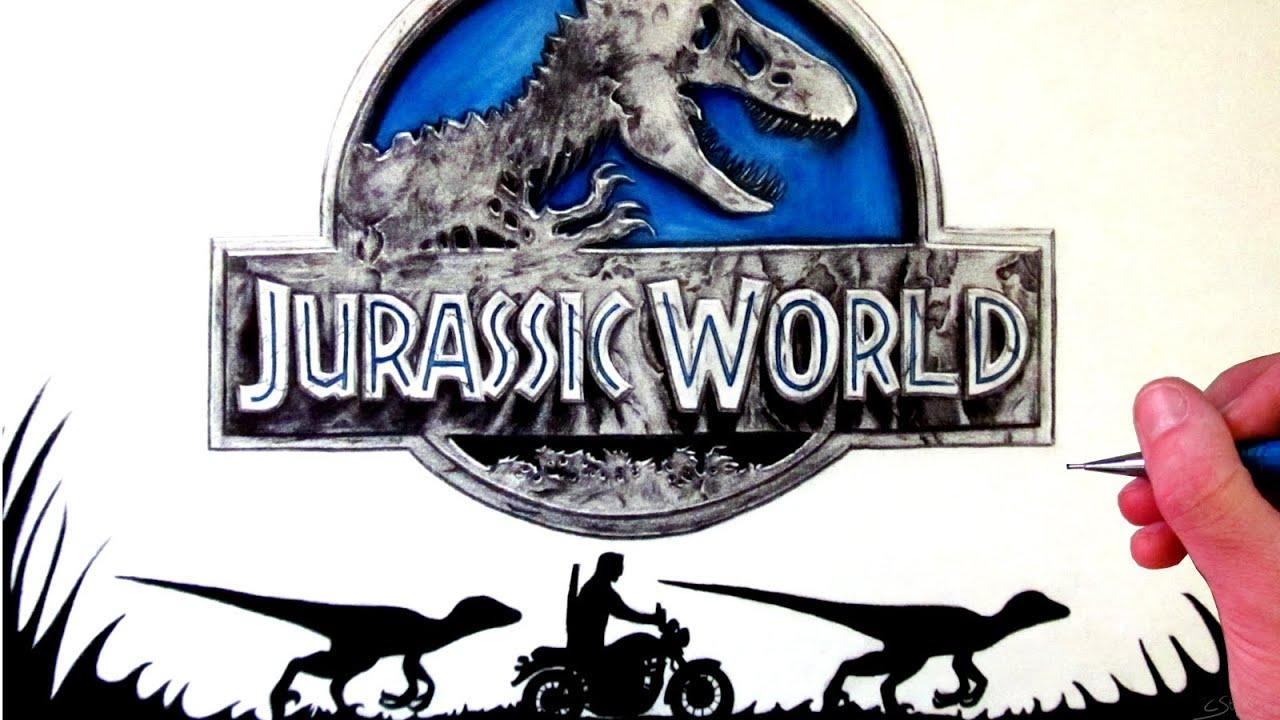 Jurassic World Drawing Fan Art