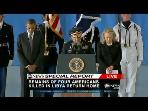 Americans Killed in Benghazi, Libya Return to U.S.