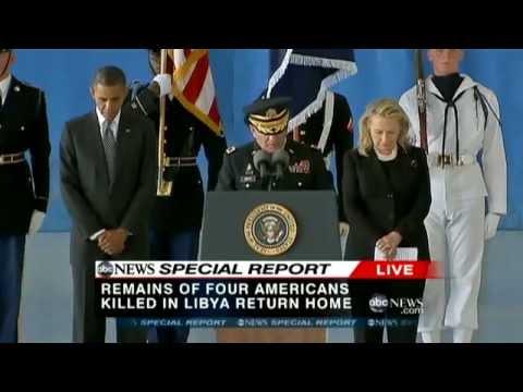 Americans Killed in Benghazi, Libya Return to U.S.