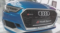 Ara Blue Crystal effect Audi RS3 Sportback - Looks so good!