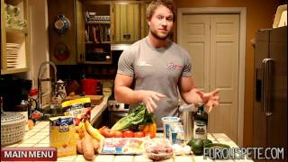 Nutrition - Simple Guide To Any Body Transformation | Furious Pete(Not sure how to change your diet? Watch this video! Limited Furious Apparel ▻http://www.furiouspete.com Workout Programs/Coaching ..., 2012-09-12T15:32:24.000Z)